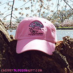 National Cherry Blossom Festival Hat - Pink