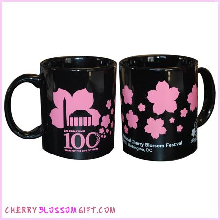 100th Anniversary Cherry Blossom Coffee Mug