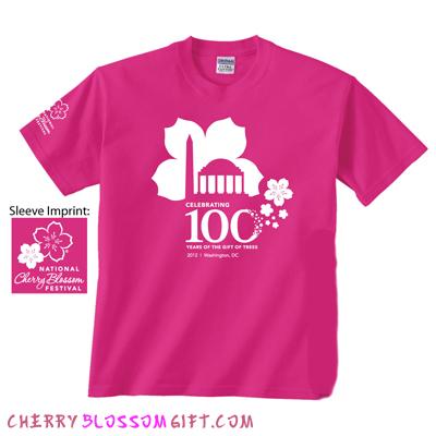 2012 100th Anniversary Cherry Blossom Festival T-Shirt