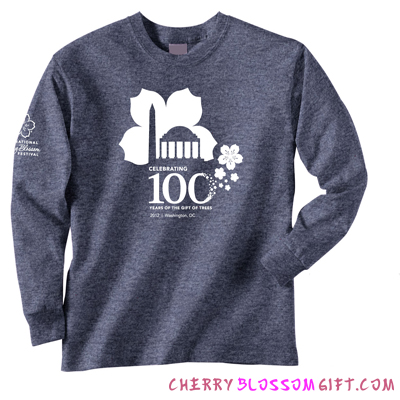2012 100th Anniversary Cherry Blossom Festival Long Sleeve Shirt