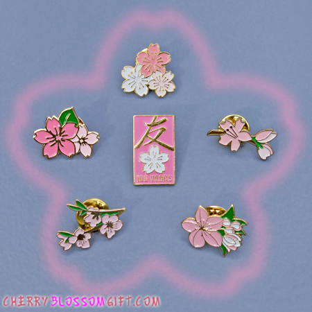 National Cherry Blossom Festival Pin Collection