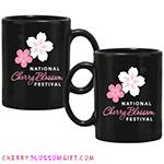 National Cherry Blossom Festival Logo Mug