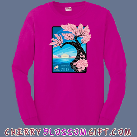 2013 National Cherry Blossom Festival Long Sleeve Shirt