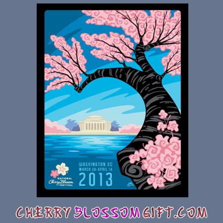 2013 National Cherry Blossom Festival Poster