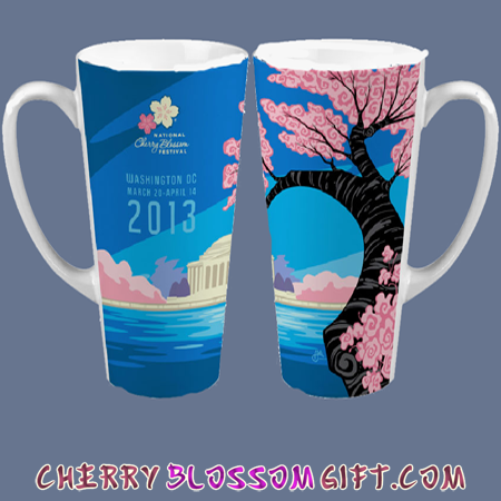 2013 National Cherry Blossom Festival Tall Mug