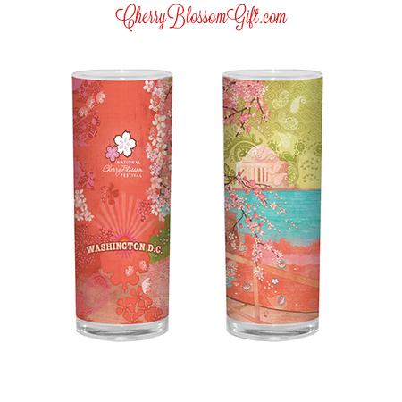 2014 National Cherry Blossom Shot Glass