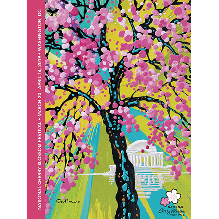 2019 National Cherry Blossom Festival Print