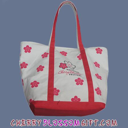 2013 National Cherry Blossom Festival Canvas Tote Bag