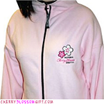Cherry Blossom Festival Pink Fleece
