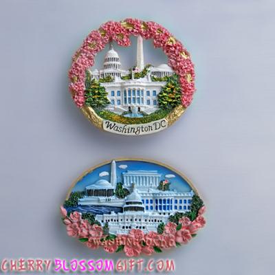 Cherry Blossom Magnet Set