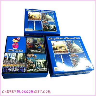 Cherry Blossom Memory Game
